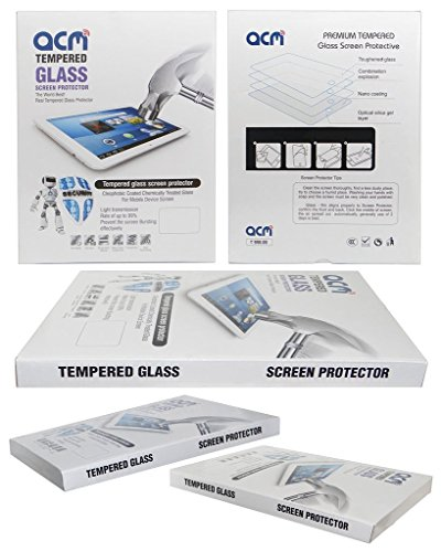 Acm Tempered Glass Screenguard for Lenovo Yoga Tab 3 8.0 Tablet Screen Guard Scratch Protector