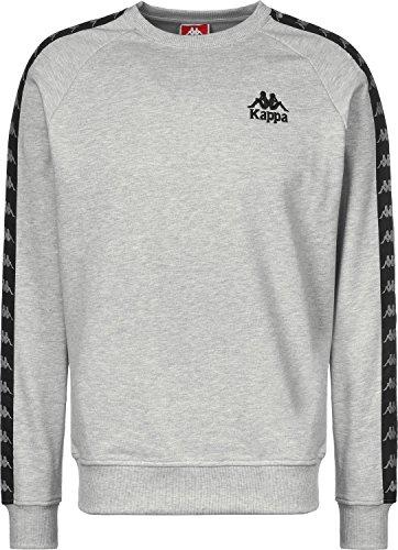 Kappa Tarl Sweater Grau Meliert