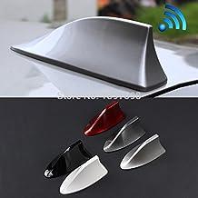 Soxid - Aleta de tiburón con antena de señal de radio para Mitsubishi Outlander ASX Lancer Evolution Pajero/Eclipse/Grandis