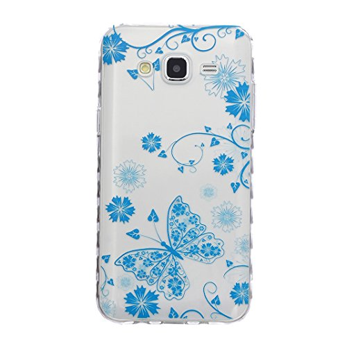 iPhone 6 6S Cover in Silicone, Asnlove Custodia Case TPU Silicone Lucida Trasparente Bumper Gomma Caso Stilosa Custodia di Design in Morbido TPU Clear Back Protezione Posteriore per iPhone 6 6S 4.7 Po color-3
