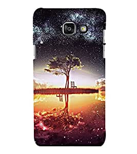 printtech Nature Space View Back Case Cover for Samsung Galaxy A7 2016 Edition