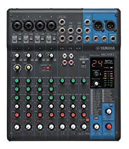 yamaha mg10xu 10 input stereo mixer musical instruments. Black Bedroom Furniture Sets. Home Design Ideas