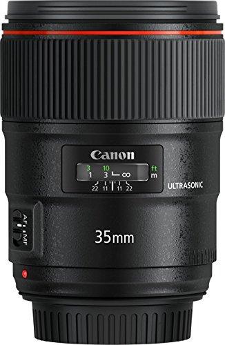Canon Obiettivo Grandangolare, EF 35 mm f/1.4L II USM, Nero/Antracite [Versione Canon Pass Italia] Special