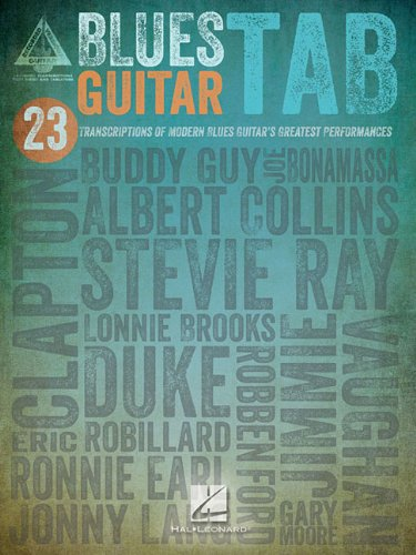 Blues Guitar Tab Guitar Recorded Version (Guitar Recorded Versions)