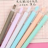 Candy Farbe Stift 0,5mm Black Ink Bleistifte Cute Schreiben Zeichnen Schule Office Stationery Supplies grün