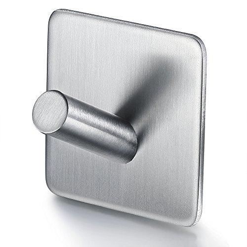 prezzo BasicForm Gancio Adesivo in Acciaio Inossidabile Ultra Forte 3MResistente (4 Pezzo)