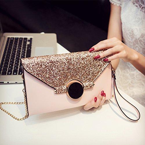 Neue große Kapazität Paket, personalisierte Mode, Handtasche, grau Pink