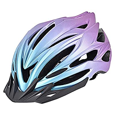 Yiesing Adult Bike Helmet,Road/Mountain Bicycle Cycling Helmet for Men and Women with Removable Visor,Adjustable Dail, Flow Vents and Detachable Liner