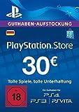 PSN Card-Aufstockung | 30 EUR | PS4, PS3, PS Vita Playstation Network Download Code - deutsches Konto