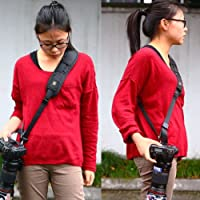 HANUMEX DSLR Camera Quick Sling Strap (Multicolour)