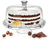 Glas Multifunktionaller 6 in 1 Kuchenständer