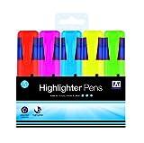 Anker International stationnaire de couleur Surligneur (lot de 5)