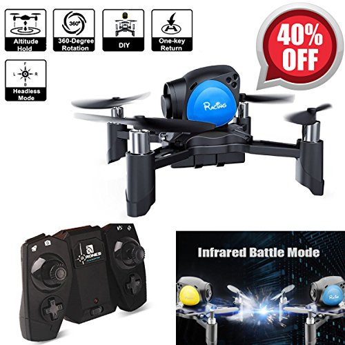 Mini Drohne Quadrocopter, Revell Eye over Drone RC Set ( Infrared Bad blood with SOP, Headless Set up, Altitude Orate, One Key To Reoccur, 3D Go MAV RTF) für spielzeug Kinder Power