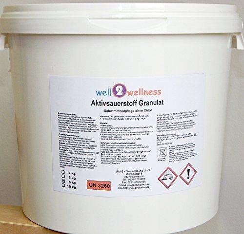 Aktivsauerstoff Granulat / Sauerstoff Granulat / O²-Granulat - 5,0 kg