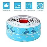 Caulk Strip Wall and Corner Autoaufkleber Peel und Caulk Strip Apparecchio Tape Caulk Sealer Tub Surround Wasserdicht Sealer Trim (Dolphin)