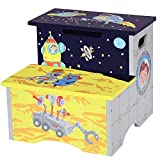 Fantasy Fields by Teamson TD-12223A Outer Space Childrens Wooden Toilet