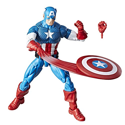 Marvel Retro 6 Kollektion Captain America -
