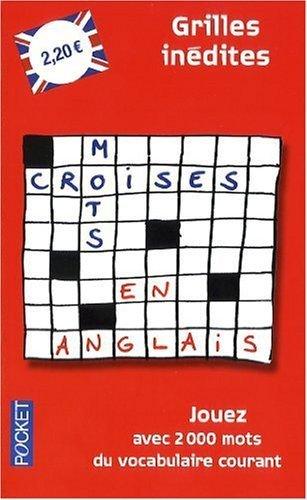 Mots croisés en anglais de Barrière. Charles (2009) Poche