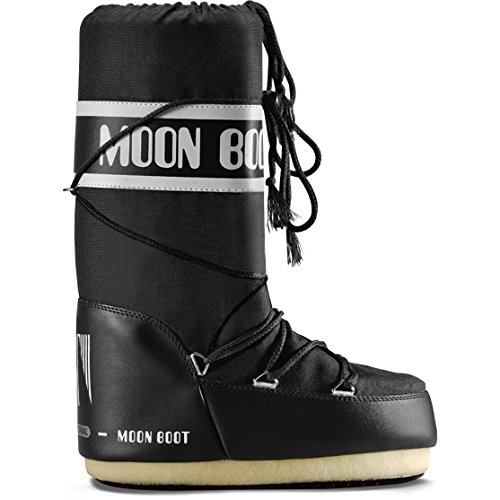 Moon Boot Classic Plus Womens Boots 39-41 EU Black