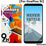 #5: Annure® OnePlus 5t Tempered Glass Screen Protector for One Plus 5t - Clear