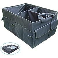 Extra Large Bagagliaio Organizer, Premium Cargo Trunk bagagli Adatto per SUV, Van, auto, camion e casa, nero, garanzia a vita - Nero Cargo Box