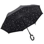 L'ombrello reversibile Plemo combina robustezza e bellezza, garantendoti potenza e grazia in un unico strumento. Sia che tu stia cercando un ombrello resistente che possa resistere anche alle condizioni meteo peggiori, o un accessorio sofisti...