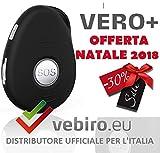 Vero+ - Telesoccorso SOS GSM con localizzazione satellitare e riconoscimento...