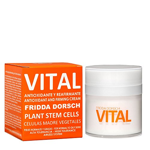 Fridda Dorsch, VITAL - Facial Treatment Antioxidant and Firming with Vitamins and Plant Stem Cells. Mixed to Oily Skin - 50 ml