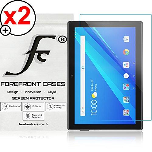 Forefront Cases® Lenovo Tab 4 10 / Lenovo Tab4 10 25,65 cm (10,1 Zoll HD IPS Touch) Tablet-PC [HIGH DEFINITON HD KLARHEIT] Bildschirmschutzfolie Schutzfolie Screen Protector Folie (Packung mit 2)