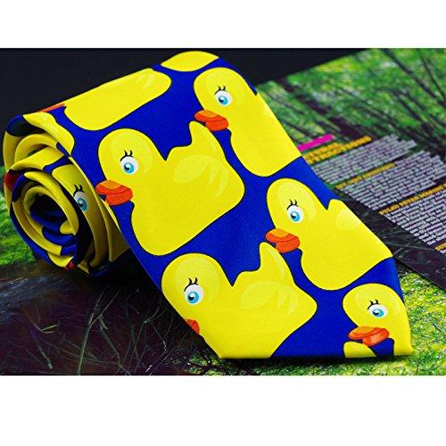 Ducky tie, cómo conocí a tu madre actor ducky empate corbata seda pato