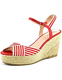 Nine West Breeze Mujer Lona Sandalia