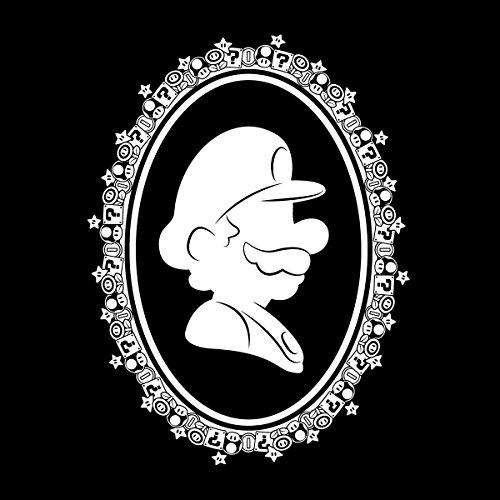 Super Mario Silhouette Women's Vest Black