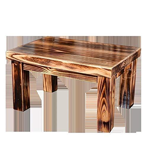 ICTYPM Ottomans Hocker Massivholz Hocker Sofa Wohnzimmer Kleine Bank Home Hocker Bad Tee Tisch Ändern Schuhe Hocker Kinder Holz Stuhl/Natur Wohnzimmer, Flur, Schlafzimmer, Büro (Color : A2)