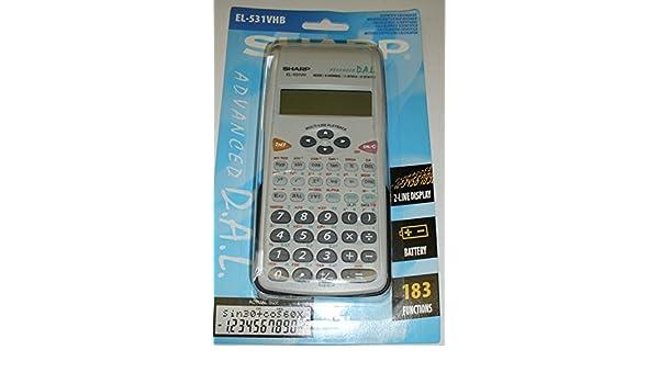 Sharp EL-531VHB Advanced Calculator