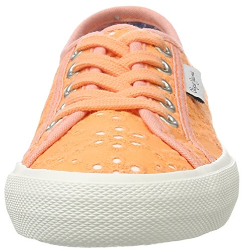 Pepe Jeans Baker Tie Dye, Scarpe da Ginnastica Basse Bambina Arancione (Lt Orange)