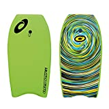 Osprey Body Board with Leash Slick Crescent Tail XPE Boogie Board, Multiple Design