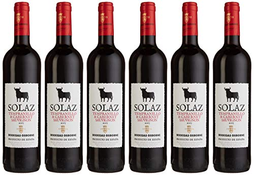 Osborne Solaz TempranilloCabernet Sauvignon Trocken (6 x 750 l)