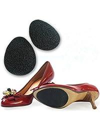 Interesting® 2 pares antideslizantes zapatos autoadhesivos Mat Protector de tacón alto Protector almohadillas de goma