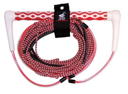 51Uj29wYsrL - AIRHEAD AHWR-6 Wakeboard Rope Dyna Core, Red, 70-Feet