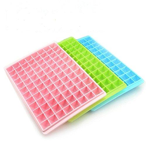 aloiness 1PCS Eiswürfelform Silikon Eiswuerfel Form Eiswuerfelbehaelter Mit Ice Tray Ice Cube Kühl
