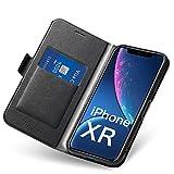 Coque iPhone XR, Ultra Mince Portefeuille (Emplacement pour Cartes + Fermeture...