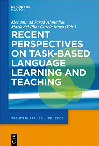 Recent Perspectives on Task-Based Language Learning and Teaching (Trends in Applied Linguistics [TAL] Book 27) (English Edition)