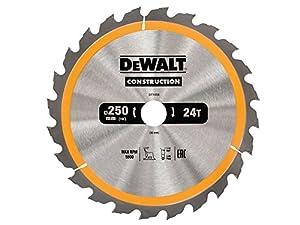 DeWalt Construction Circular Saw Blades 250mm Range