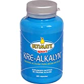 Ultimate Italia - Kre-Alkalyn - Carica i muscoli con la creatina made in USA - 120 capsule - 51Uj4keonOL. SS166