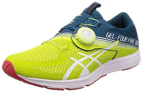 Asics Gel-451, Zapatillas de Deporte para Hombre, Verde (Neon Lime/White 300), 43.5 EU