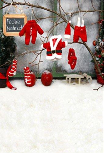 n Santa Claus Fotografie Hintergrund Computer-gedruckt Vinyl Kulissen ()
