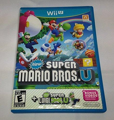 Super Mario Bros. U + New Super Luigi U. (mit Hülle, Wii U, 2015) (Wii U Mit Super Mario Bros)