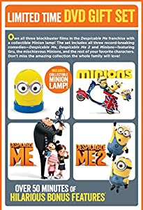 Despicable Me 3-Movie Collection (Despicable Me / Despicable Me 2 / Minions) - Limited Edition (DVD + Minion Lamp)
