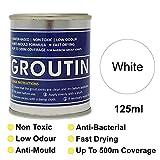 Blanco groutin lechada Reviver, restaurar y Revive Old lechada. antihongos y antibacteriano 125ml