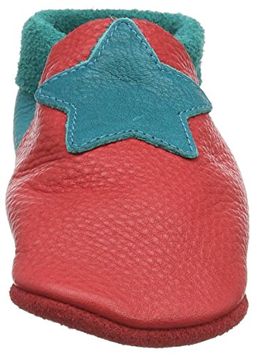 Pololo Kleiner Stern, Chaussons mixte enfant Rouge - Rot (berry waikiki 234)